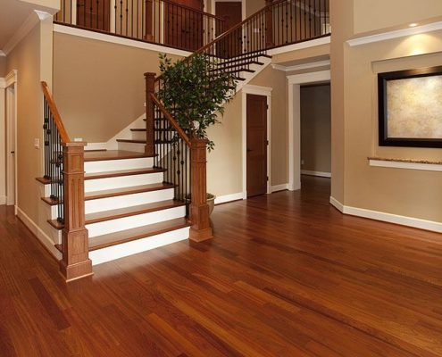 Hardwood flooring in California