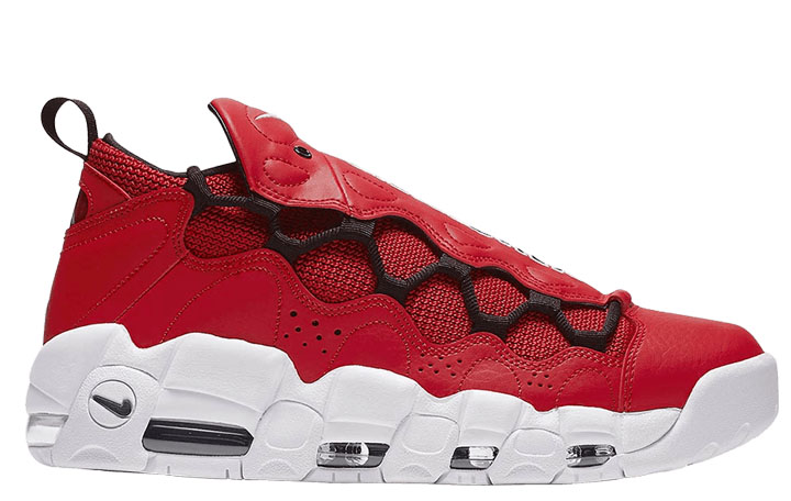 """Nike Air More Money """"Gym Red"""""""