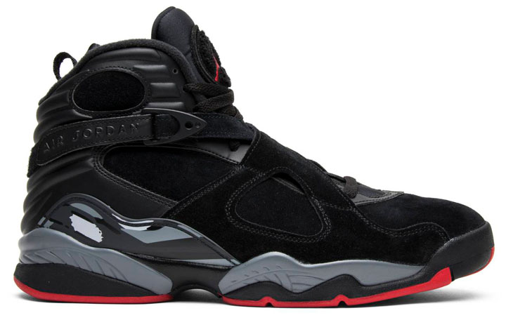 "Air Jordan 8 Retro ""Black Cement"""