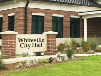 In-person meetings at the Whiteville City Hall are currently limited, but the public can attend council sessions via the Internet.