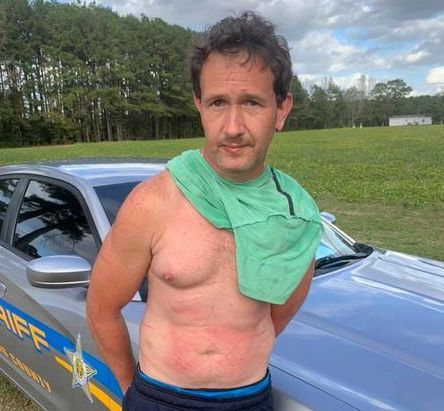 Stewart Thomas Luck in custody (CCSO photo)