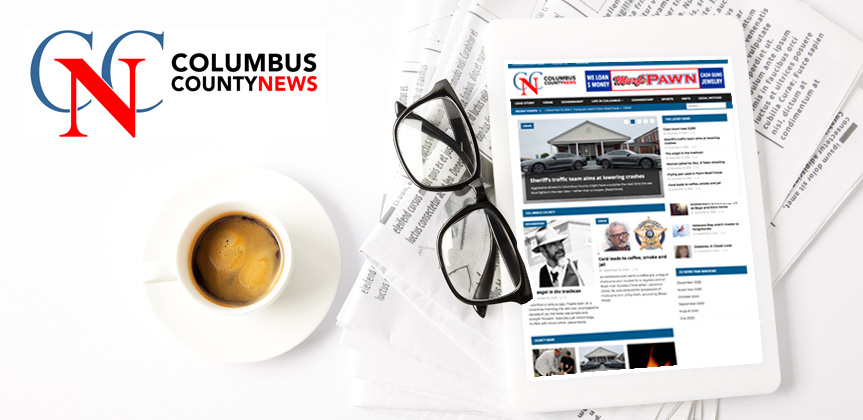 Columbus County News Lead Story Banner