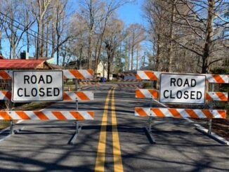 Canal Cove is closed where the canal drains into Lake Waccamaw.