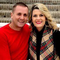 Daniel Hilburn and his wife Amanda.