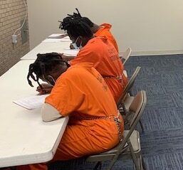 Detention Center inmates have the opportunity to earn their high school equivalency diploma through Southeastern Community College. (CCSO photo)