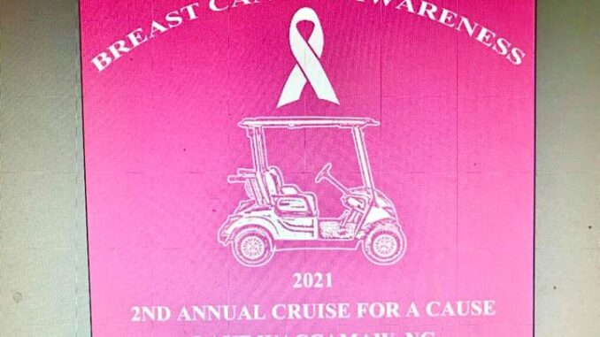 Proceeds from this year's cruise go to breast cancer research.