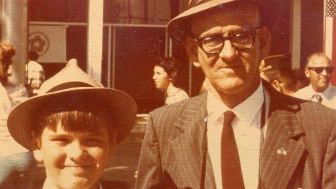 Tom and Jefferson Weaver, 1976