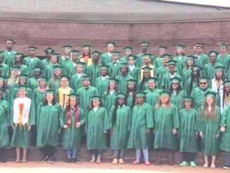 The East Columbus High Graduating Class of 2021.