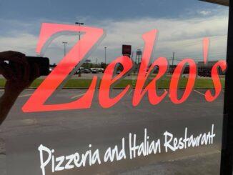 Zeko's Italian Restaurant will reopen in July.