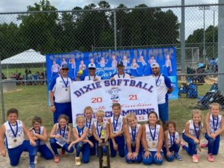 The Columbus County Dixie Darlings softball team is now heading for the World Series. (Submitted photo)