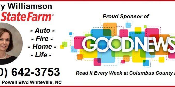 State Farm - Mary Williamson - Good News Banner