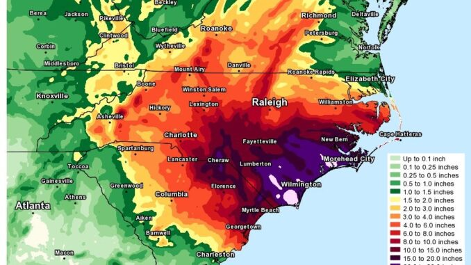 Hurricane Florence caused millions in damage to crops as well as woodlands in 2018. The deadline to apply for federal assistance for some farmers and producers has been extended. (File)