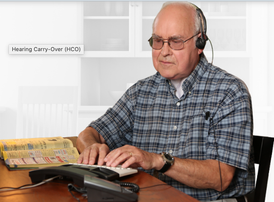 Help is available from the state for hard of hearing and disabled persons to improve their use of the telephone. (Courtesy NCDHHS)