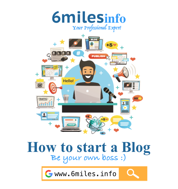 How to start a Blog in 3 easy steps and earn money at home