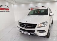 2013 MERCEDES BENZ ML 250 BLUETEC  (WHITE)