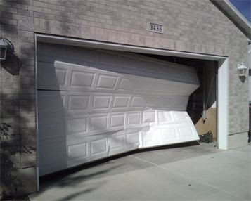 Garage Door Off Rails