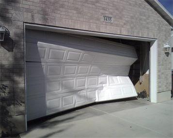 Garage Door Off Rails