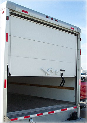 box truck door installation