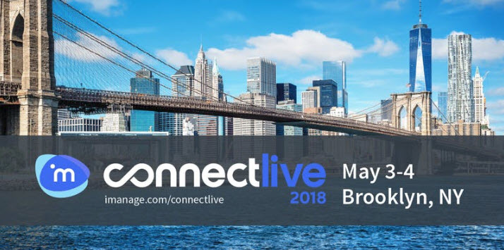 iManage ConnectLive 2018