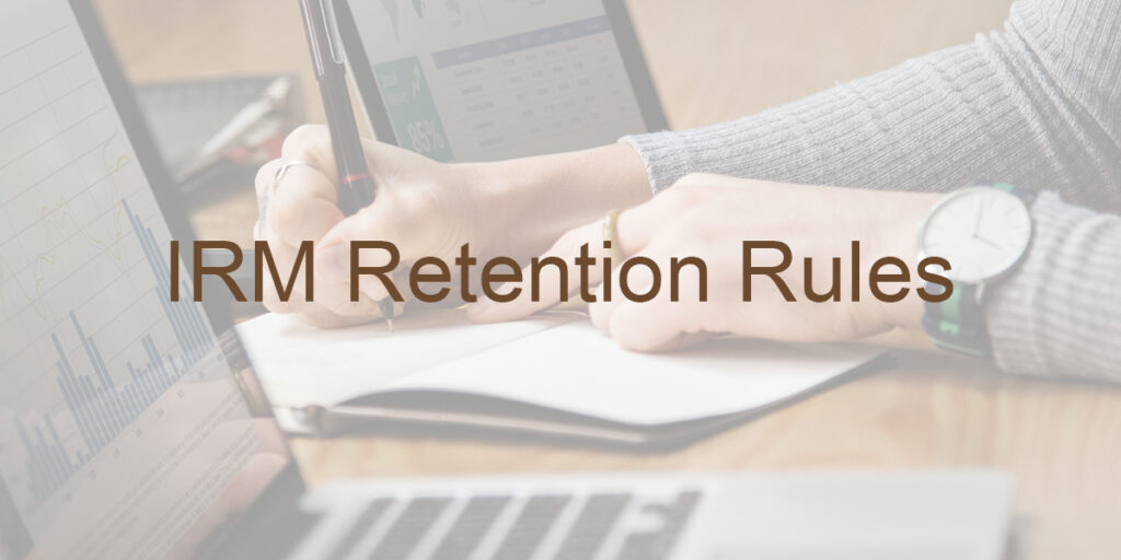 Record Retention Rules