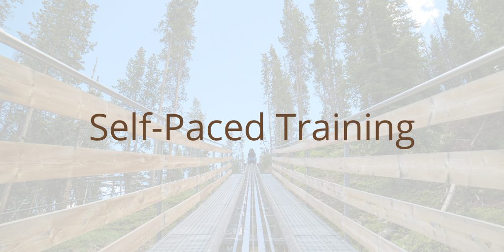 Self-Paced Training