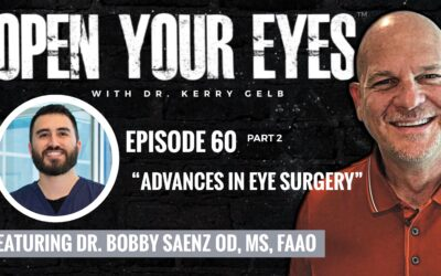 Open Your Eyes Episode 60 Part 2 with Dr. Bobby Saenz: Advances in Eye Surgery