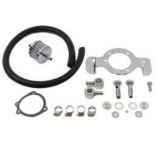 Motorcycle air cleaner for Harley Davidson motorcycles