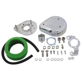 Harley Davidson motorcycle Sportster air cleaner breather kit