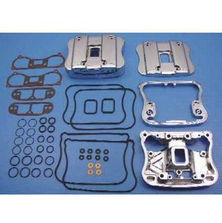 harley davidson motorcycle Sportster and 1340 Evo chrome rocker box covers