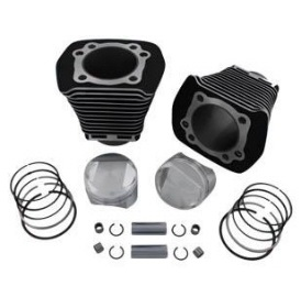 Harley Davidson Evo 1340 cylinders with pistons and rings