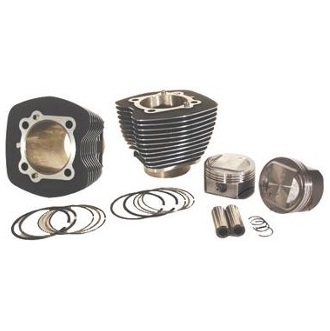 Harley Davidson big bore kit with Twin Cam cylinders, pistons and rings