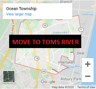 Ocean Township Location Moved to Toms River