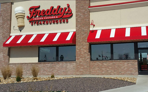 Freddy's Corporate Awning