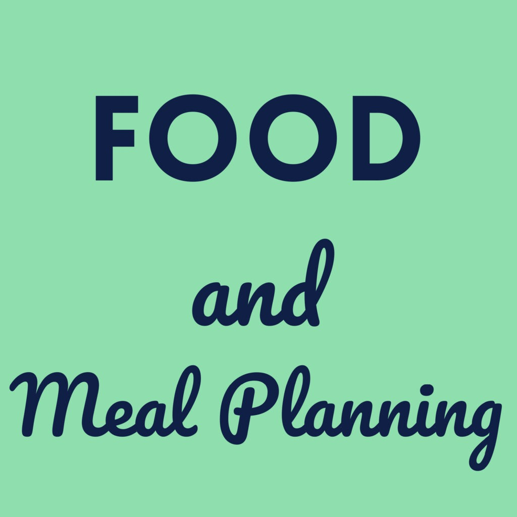 Positively Frugal Food and Meal Planning Info