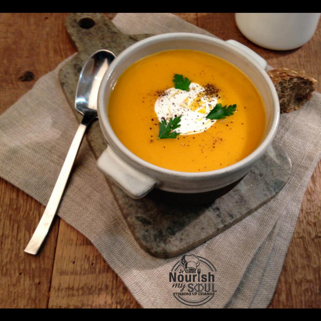 Thai Sweet Potato Soup