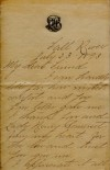 Borden letter page 1