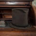 The hat Josiah Willard wore to the Republican convention where Lincoln was nominated