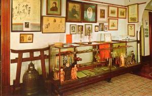 World WCTU artifacts on display, ca 1970