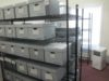 One of the refurbished storage rooms holding World WCTU records.