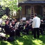 Ridgeway Band, Suffrage Rally, 2013