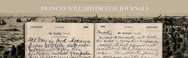 Frances Willard Digital Journals