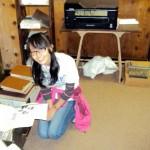 Northwestern University Volunteer Day 2012, volunteering in the archives