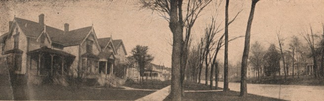 Willard House on Old Timer's Row