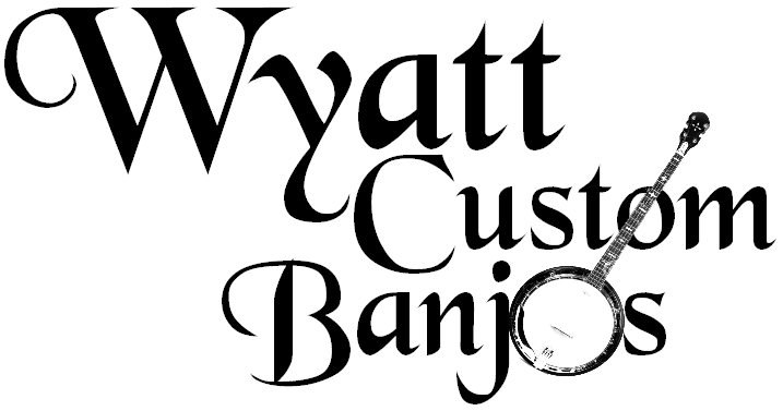 VD Cleverly Plays Wyatt Custom Banjos Exclusively