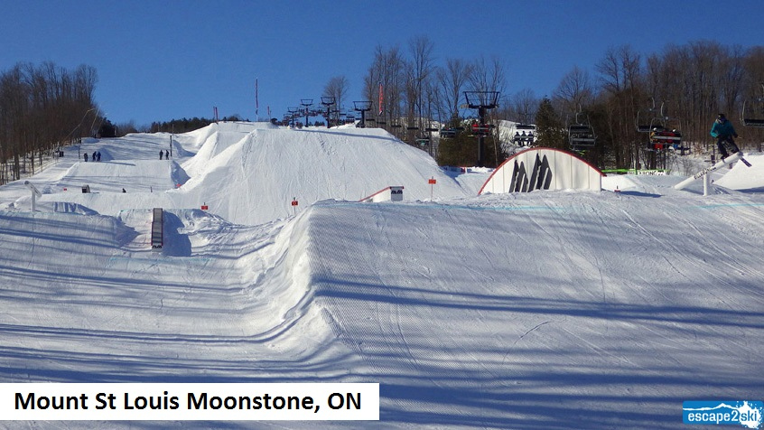 Terrain Park-Smart Style Code | Escape2ski | Mount St Louis Moonstone | Powder Magazine | Ski Magazine | In the Snow | Ski Canada Magazine