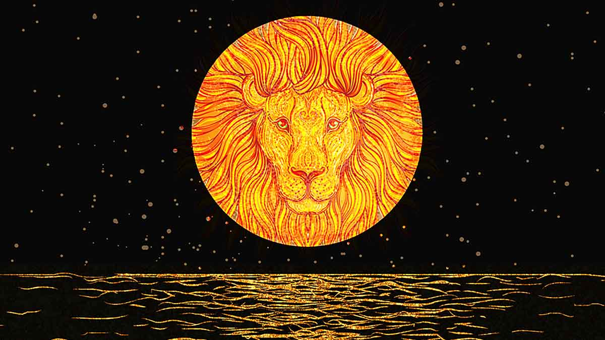 Jerry Mikutis Blog - Chicago Reiki and Astrology Meditation _ image of a Leo Moon Over water