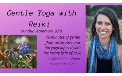Chicago Yoga and Reiki: September 26, 2021