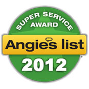 Angies List Superior Service Award 2012
