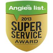 Angies List Superior Service Award 2013