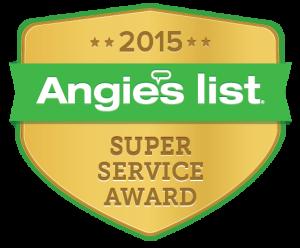 Angies List Superior Service Award 2015